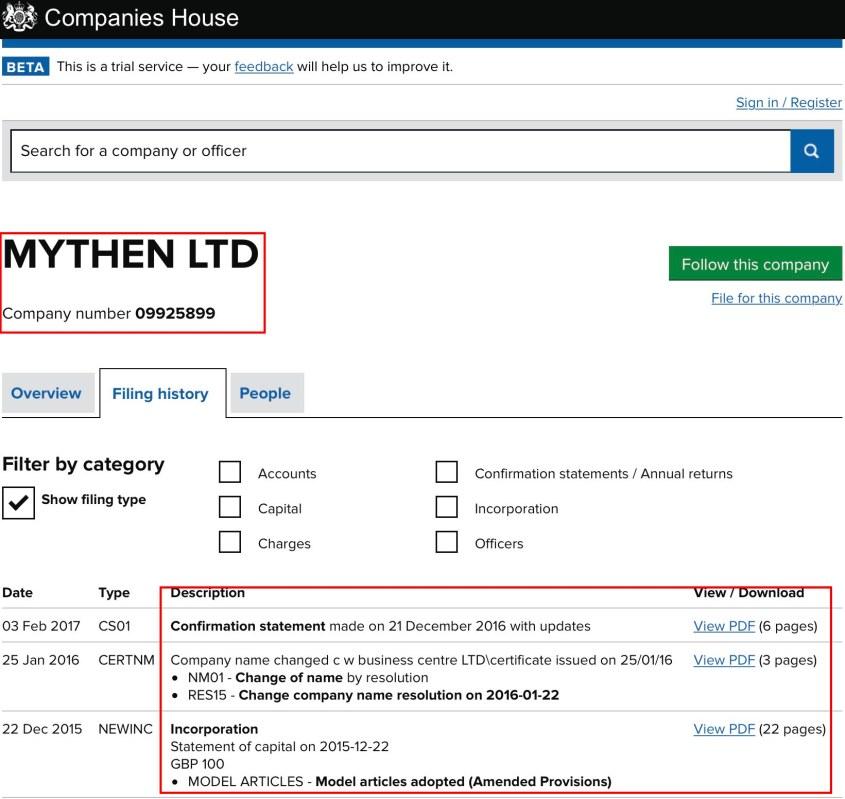 MYThen LTD Financial.org Files